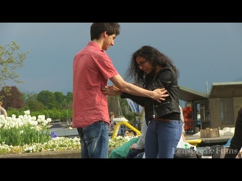 Prank! Tickling Girls (how To Pick Up Girls) video