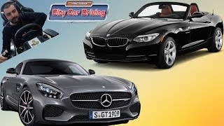 BMW Z4 sDrive28i / Mercedes AMG GT  City Car Driving #34
