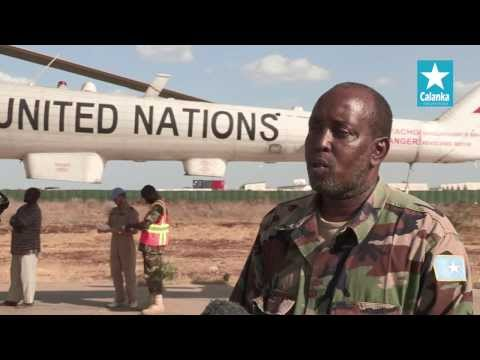 UN SUPPORT TO SOMALI NATIONAL ARMY BEGINS