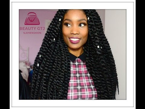 How I Style Havana Mambo Twists Crochet - Review. ( Get Twists Under an Hour!)