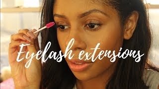 What they DON'T tell you about lash extensions!!!!!!