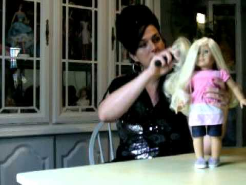 My American Girl dolls Fabulous Hair Amy Winehouse inspired me