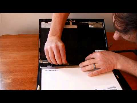 Laptop screen replacement / How to replace laptop screen on IBM Lenovo T430