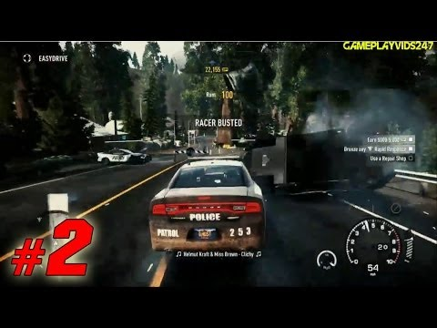 Need For Speed: Rivals Police Patrol Xbox 360 Walkthrough: Part 2 - (Gameplay / Playthrough)