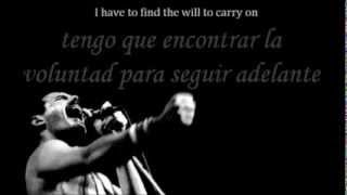 Queen - The show must go on Subtitulado Ingles Español
