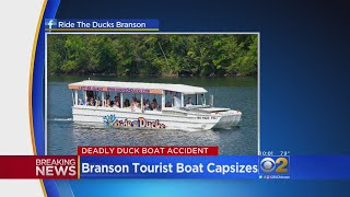 Duck Boat Capsizes In Deadly Accident Caused By Severe Weather