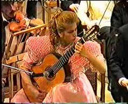 Concierto de Aranjuez Adagio/ Guitarist Galina Vale