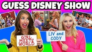 Guess the Disney Channel Show Challenge. (Can You Beat Our Score?) TotallyTV