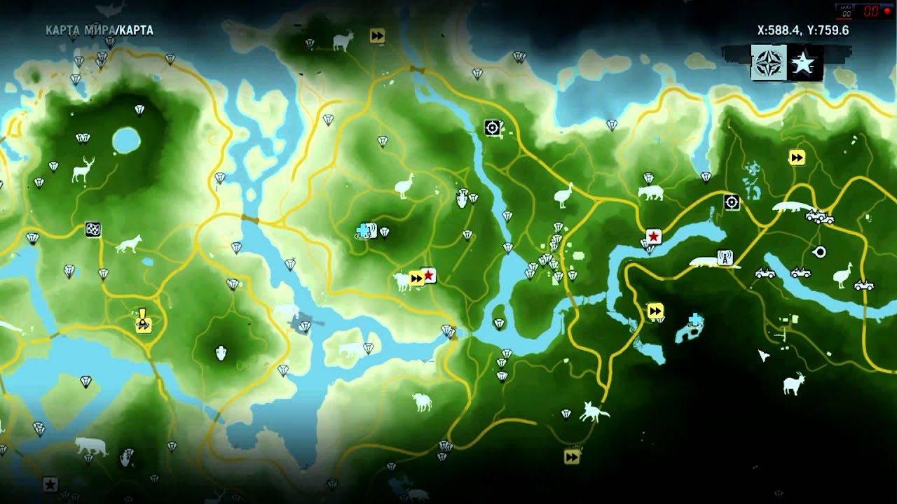Far Cry 3 Карты Реликвий - ooostroitel