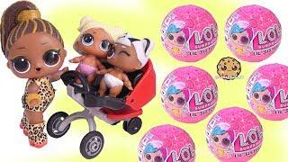 Big Sister Baby Stroller Lol Surprise Lil Sister Blind Bag Color Change