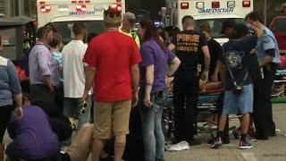 Car plows into Mardi Gras parade