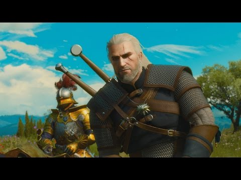 The First 20 Minutes of The Witcher 3: Blood and Wine