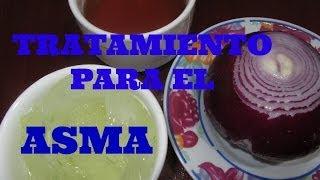 Tratamiento para el ASMA con Cebolla y Sábila