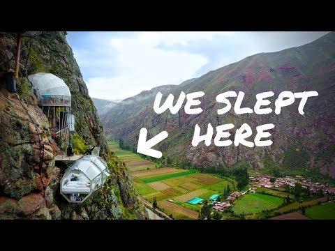 WE SLEPT ON THE SIDE OF A MOUNTAIN | Peru Sky Lodge