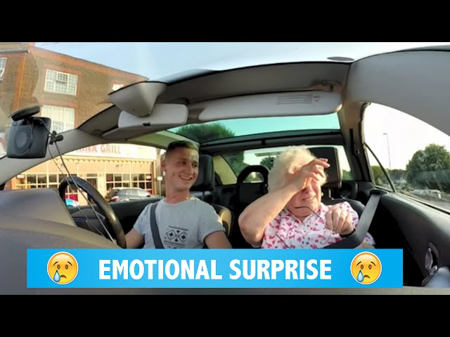 Emotional SURPRISE for my nan's birthday
