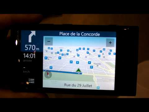 Nokia Lumia 820 & 920 Drive Maps Transport Indoor Mapping Navigation GPS