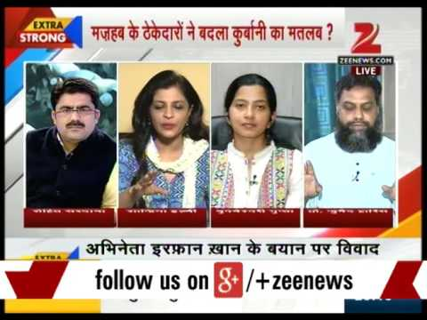 Panel discussion over actor Irrfan Khan's controversial remark - Part II