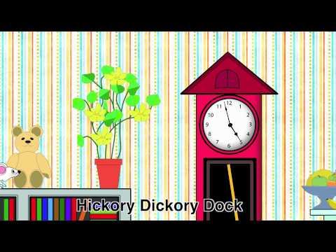 Nursery Rhymes - Hickory Dickory Dock video