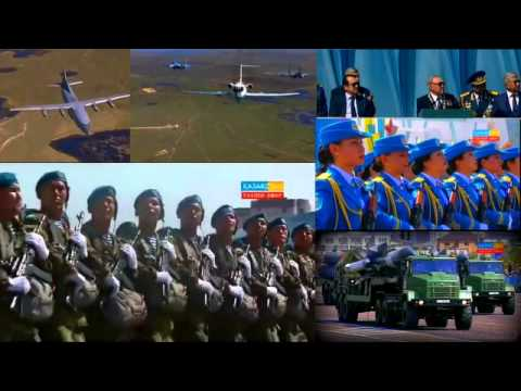 "Astana, Kazakhstan: ""Largest Ever Military Parade Since fall of Soviet Union"""