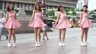Girl's day台灣首場演唱會宣傳快閃活動 T:ime