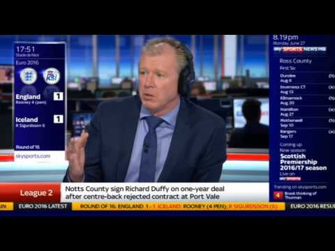 See how Steve McClaren is as hapless as Roy Hodgson in this gaffe