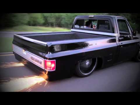 Trent Eschete's '87 Chevy C10 with model Dani Felli Music Videos