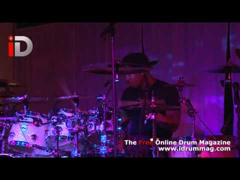 Tony Royster Jr - Live Drum Solo Performance - Sabian Live 2012 Interview With iDrum Magazine