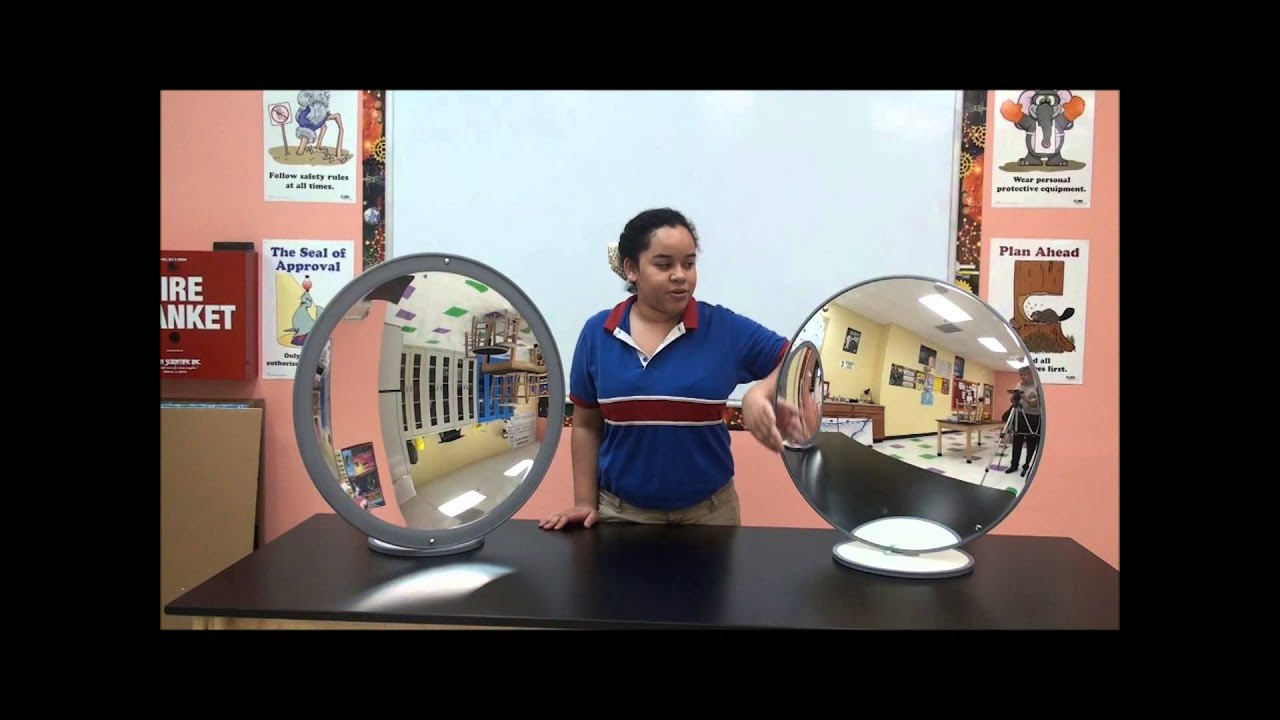 Harmony Stem Project Convex And Concave Mirrors Youtube