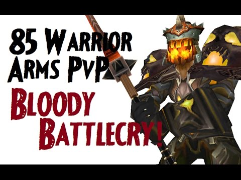 Meatfull - Level 85 Arms Warrior Twink Pvp - Mop Patch 5.4.8 video