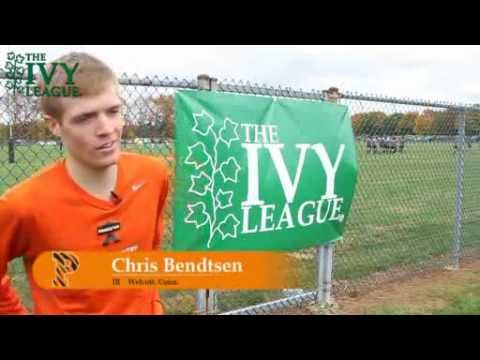 2012 Ivy League Heptagonal Men&#039;s Cross Country highlights.flv