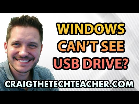 Why Windows Will Not Recognize USB Thumb Drive
