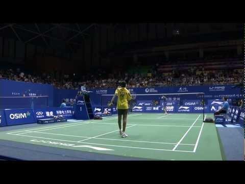 QF - WS - Pusarla Venkata Sindhu vs Li Xuerui - 2012 China Masters