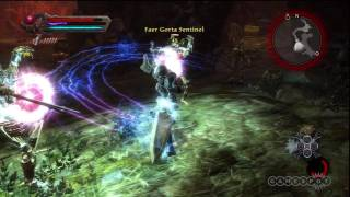 Fighting - Kingdoms of Amalur_ Reckoning Gameplay (PS3)
