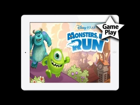 MONSTERS. INC. RUN para iPad/iPhone/iPod Touch - PLAY JUEGO