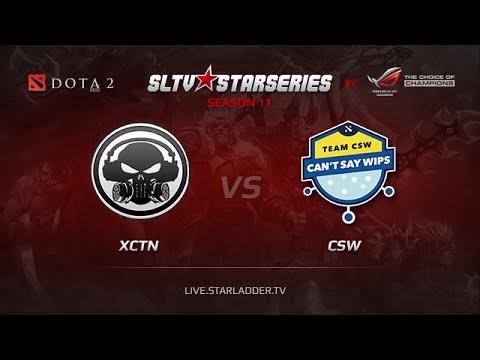 XCTN vs CSW, SLTV SEA Season 11, Day 10
