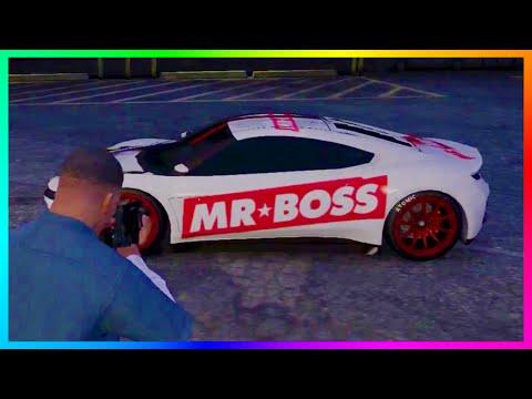 GTA 5 Custom MrBossFTW Sports Car!!! - Modded Custom GTA 5 Cars! (GTA V)