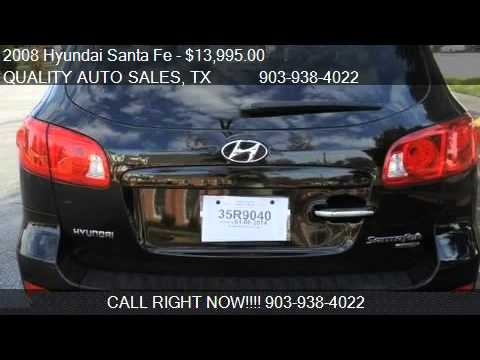 2008 Hyundai Santa Fe Limited - for sale in Marshall, TX 756
