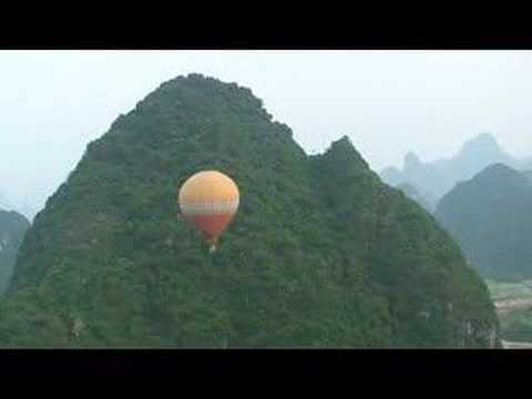 Ballooning in Guangxi Video