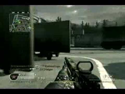 Call Of Duty 4 Online 003 - 25 KILLING STREAK
