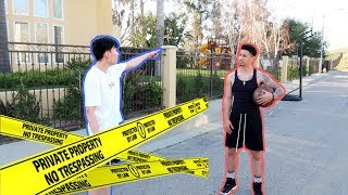 SOMEONE GOT CAUGHT TRESPASSING THE ACE FAMILY'S HOUSE!!!