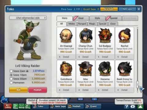 Lost Saga BUG Hero Permanen