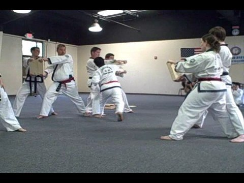 Grandmaster Saul Kim form/breaking demonstration [Tang Soo Do] Image 1