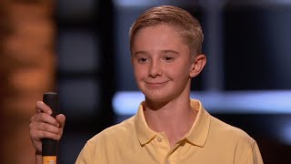 13-Year-Old Maddox Pritchard Weighs Two Deals - Shark Tank