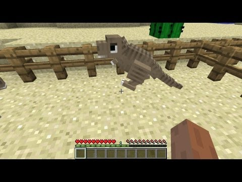 Minecraft Dinosaurs - Part 5 - First Dino Egg!
