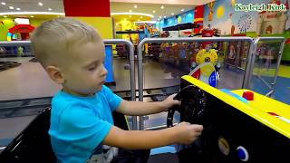 Baby Playing Toy Cars and Truck - Kayleigh Kirk