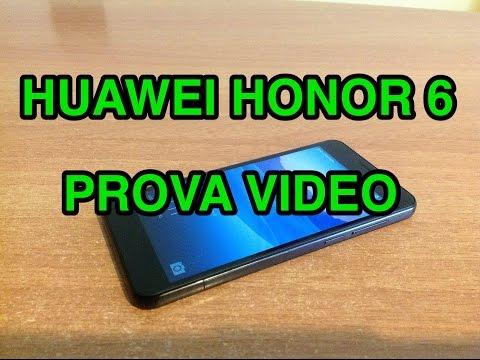 Huawei Honor 6 (versione Europea) - prova video fullHD