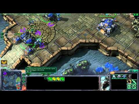 StarCraft 2 - LIVE 2v2 Force [T] Tempest [P] vs Markasaurus [Z] unRivaled [T] - Commentary