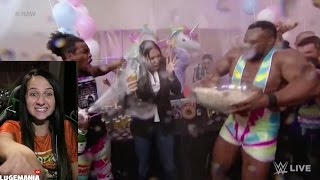 WWE RAW 12/12/16 New Day Celebration