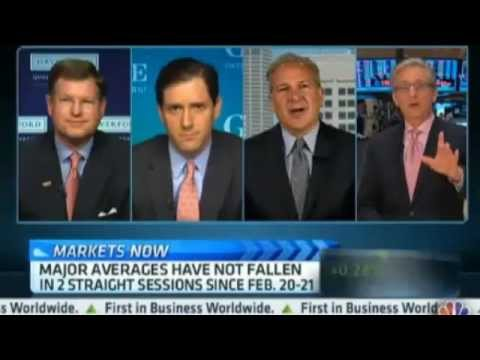 Peter Schiff 2013 - Peter Schiff schools CNBC fools about the insolvency of US Banks...