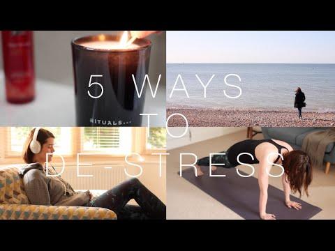 Five Ways to De-Stress | AD | ViviannaDoesMakeup